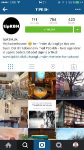 Track Instagram besøg