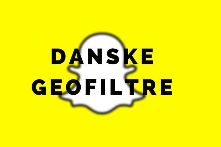 Snapchat: Danske geofiltre